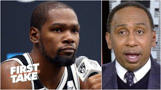Stephen A.: Kevin Durant is on the clock | First Take