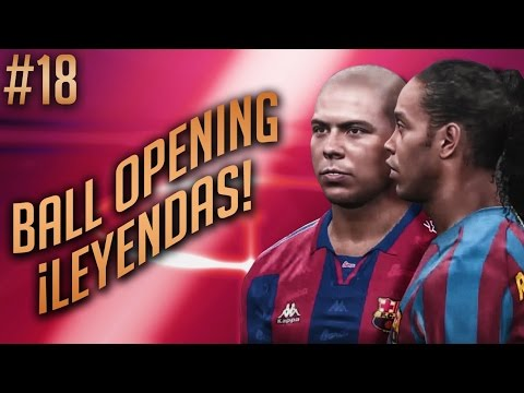 "PES 2017 myClub: ""LEYENDAS FC BARCELONA"" (180 K Ball Opening) EP #18"