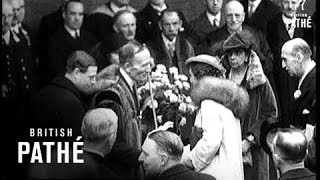Royal Reception To Princess Marina (1934)