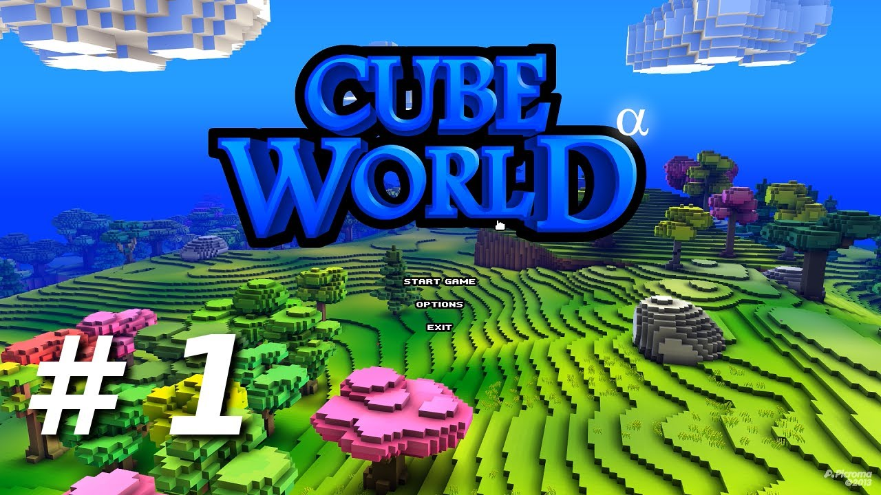 how to play cube world