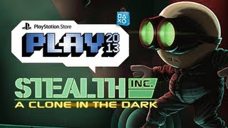 PlayStation Store Play 2013: Stealth Inc. A Clone in the Dark Gameplay