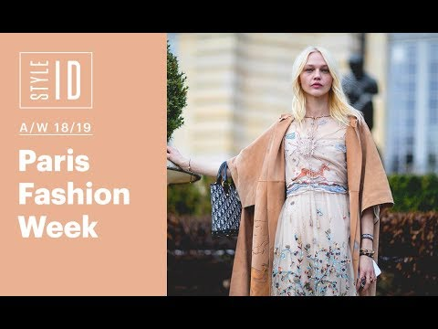 Style ID: Paris Fashion Week A/W 18/19