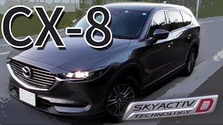 CX-8 0-160km/h フル加速 中間加速 エンジン始動 巡行回転数 試乗 感想 等 Mazda CX-8 acceleration