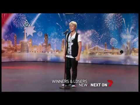Jack Vidgen - Australia's Got Talent 2011 !! Audition !! FULL !! I have nothing !! HD !!