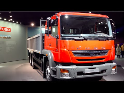 Fuso FJ 2015 In detail review walkaround Interior Exterior