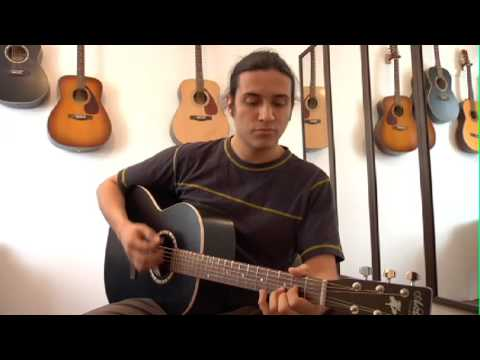Guitar for Beginners -- How to Strum the G / D / Am / C Chord ...