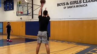 Justinian Jessup NBA Pre Draft Shooting Workout