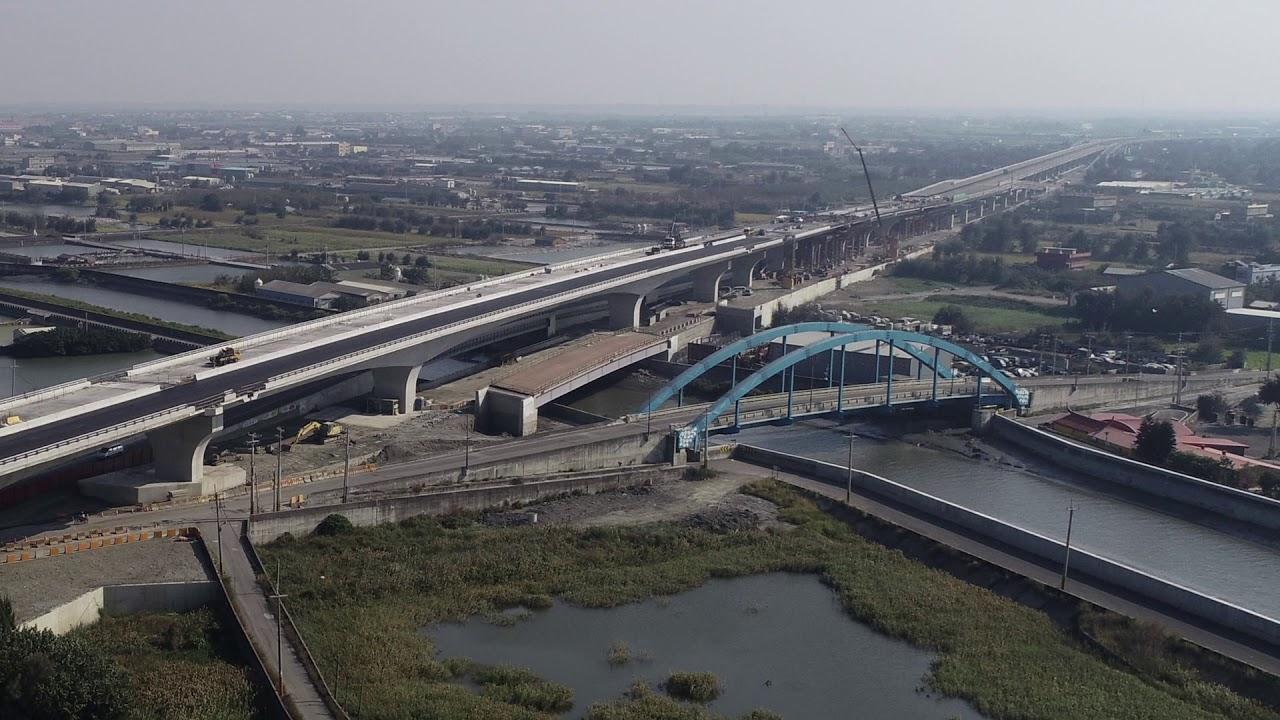 臺61線西部濱海公路新街大城段主體結構完成 - YouTube
