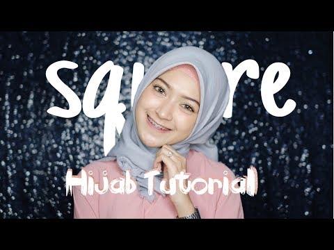 "SIMPLE HIJAB TUTORIAL SEGIEMPAT ""7style 1scarf Part II"" | Saritiw"