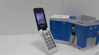 Unboxing do aparelho celular Alcatel 2051D