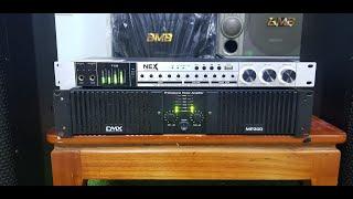 3tr2    Thanh lý Đẩy công suất bãi DMX -MP300 chạy 16 sò lớn JApan ,công suất lớn    0985418496