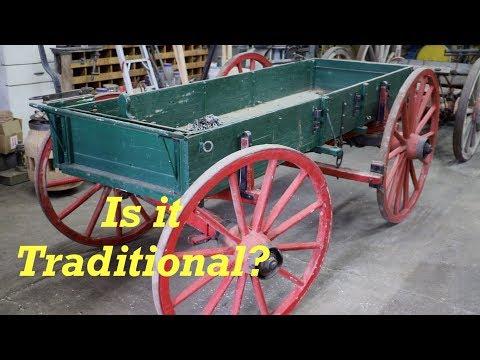 Homemade Horse Drawn Wagon |Wagon Wheel Fitment | Engels Coach