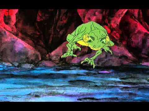 Gollum Bites off Frodo's Finger(1980)