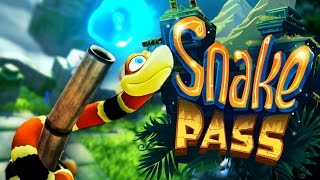 Snake Pass - CUTEST NOPE ROPE - Let's Play Snake Pass PC Gameplay (PC Steam Version)