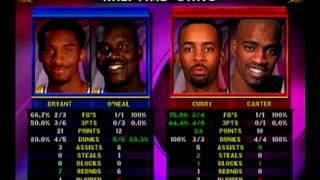 NBA Showtime NBA on NBC Dreamcast Gameplay