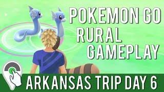 ARKANSAS TRIP DAY 6! Incredible Double Dratini Spawn! Rural Pokemon GO Gameplay!