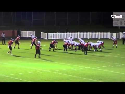 Michael Munder Sophomore Year Highlights (2018 LB Bishop Kenny High School)
