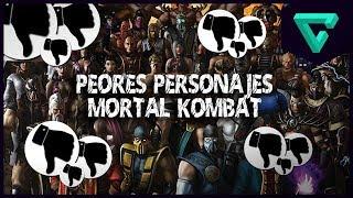 TOP 10 PEORES PERSONAJES DE MORTAL KOMBAT | TGN