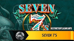 Seven 7's slot by Crazy Tooth Studio