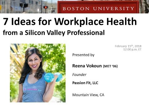 7 Ideas for Workplace Health from a Silicon Valley Professional