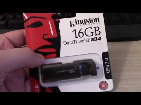 Флешка Kingston 16 GB DataTraveler 104 за 200 р.
