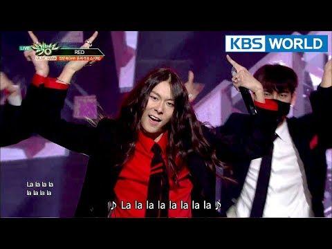 JANG MOON BOK (With Yun Hee Seok & So Ji Hyeok) (장문복) - RED [Music Bank / 2018.03.09]