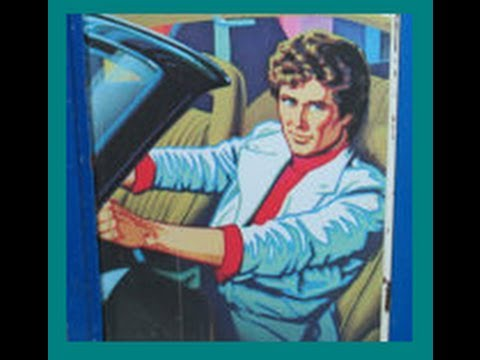 A Collectable Vintage Knight Rider Tin Lunchbox with thermos & What it is worth?