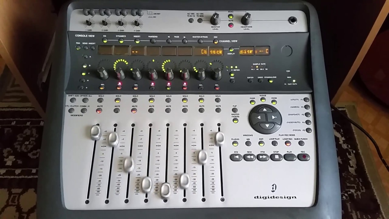 How To Put Digidesign Digo002 Test Mode
