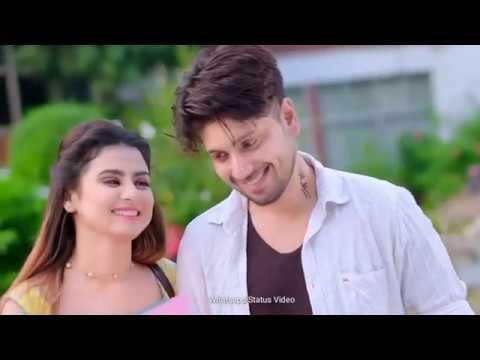 Mahiya Tu Wada Kar 🤝 So Sweet 😍cute Couple Romantic Love Whatsapp Status Video 2019. Love Status