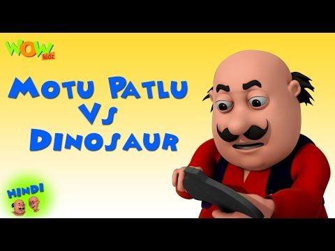 Motu Patlu Vs Dinosaur - Motu Patlu in Hindi - 3D Animation Cartoon - As on Nickelodeon