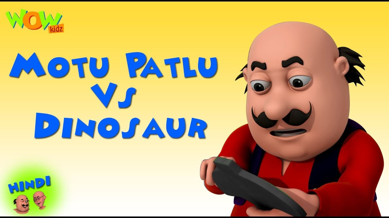 Motu Patlu Vs Dinosaur Motu Patlu In Hindi 3d Animation Cartoon
