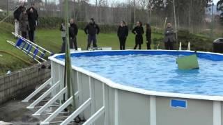 Тест обзор испанского каркасного бассейна GRE (ГРЕ)