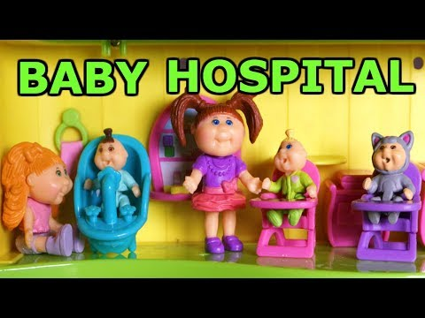 CABBAGE PATCH KIDS LITTLE SPROUTS Babyland General Hospital Review
