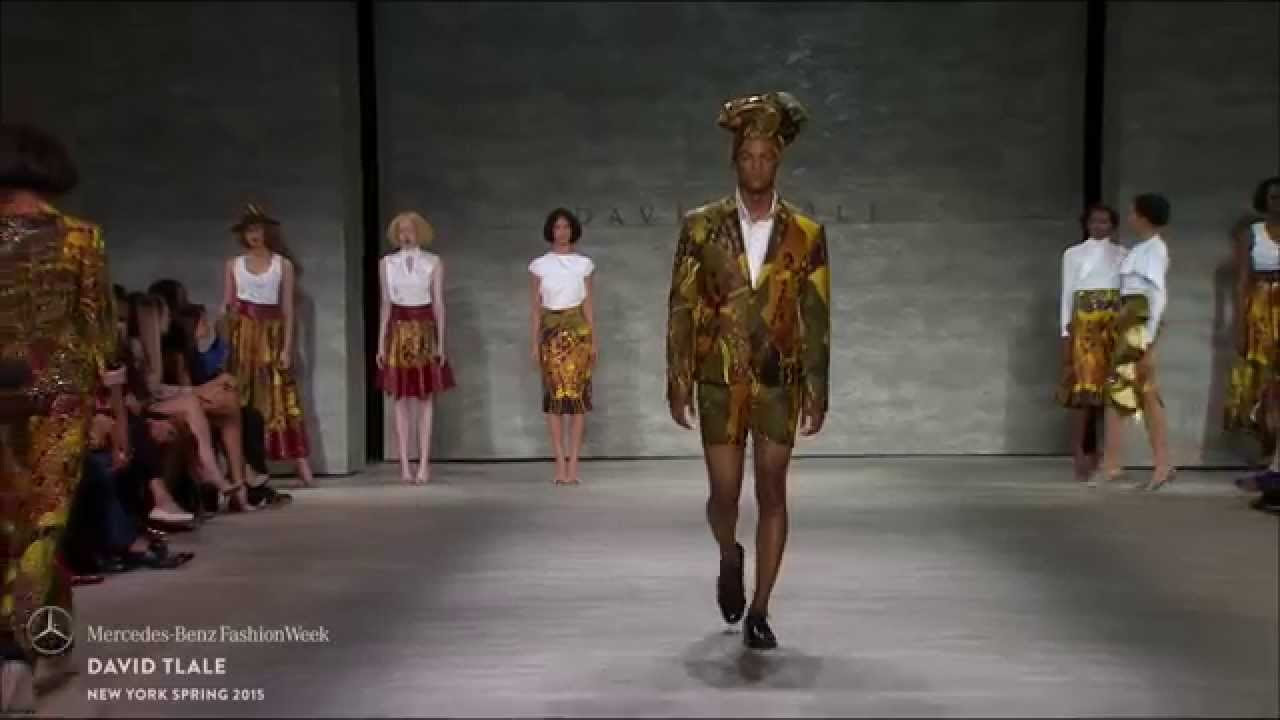 DAVID TLALE: MERCEDES-BENZ FASHION WEEK S/S15 COLLECTIONS