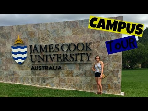 JAMES COOK UNIVERSITY CAMPUS TOUR {Townsville} | Nat Stout