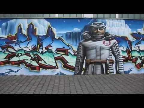 3Steps painting Star Wars the Clone Wars - Graffiti Action - Graff Wars