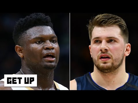 Reacting to Luka and Zion's first career matchup | Get Up