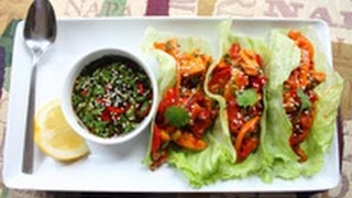 Cooking | Chicken Lettuce Wraps recipe