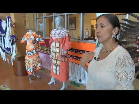 Traditional Native Americanregalia On Display At UM