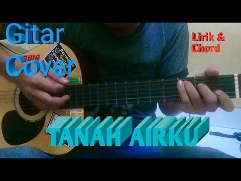 Tanah Airku | Lagu Wajib | Lirik dan Chord | Guitar Cover by Van