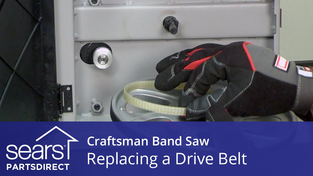 How to replace a craftsman band saw drive belt youtube how to replace a craftsman band saw drive belt keyboard keysfo Choice Image