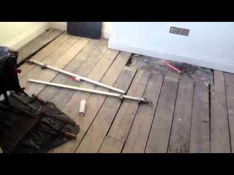 Pine Floor Restoration