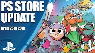 PlayStation Store Highlights - 25th April 2018