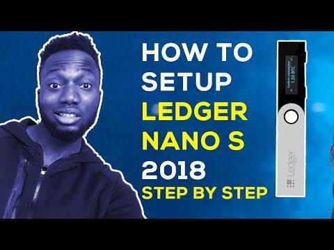 HOW TO SETUP LEDGER NANO S WALLET TUTORIAL 2018
