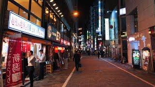 夜の神田駅周辺を街ブラ - 4K UHD thumbnail