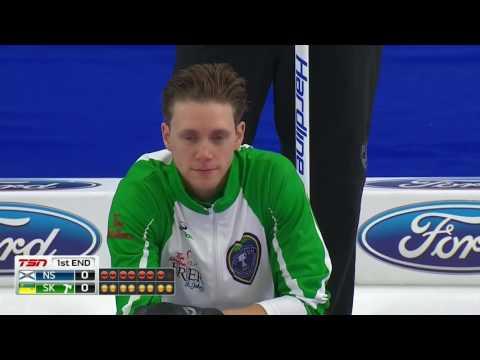 2017 Tim Hortons Brier - Casey (SK) vs. Murphy (NS) - Draw 11