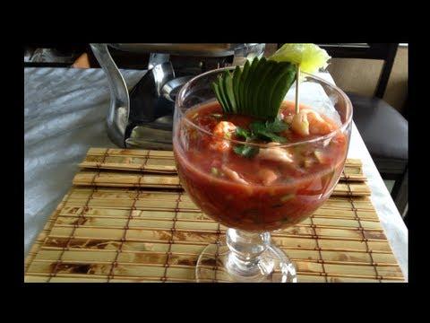Coctel de camaron deliciosa receta youtube - Coctel de marisco ingredientes ...
