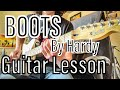 HARDY - Boots | GUITAR LESSON Intro and Solo