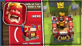 OMG! NEW TOWER DESIGN in Clash Royale! | NEW (RED) UPDATE