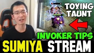 SUMIYA Invoker Tips ft Toying Legion with Taunt | Sumiya Facecam Stream Moment #293